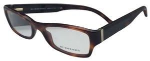 Burberry New BURBERRY Eyeglasses B 2094 3316 52-17 135 Havana Tortoise Frame w/Clear Lenses