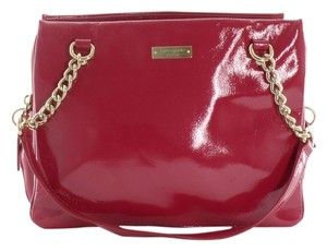 Kate Spade Pink Patent Shoulder Bag