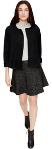 Ann Taylor LOFT Trendy Classic Fancy Casual Black Jacket