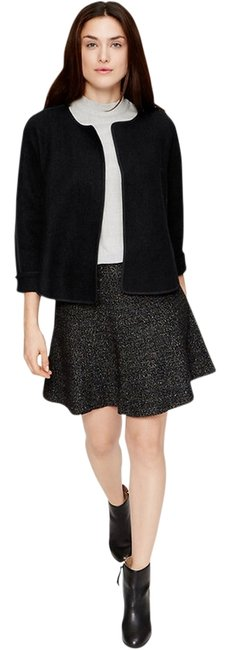 Preload https://item2.tradesy.com/images/ann-taylor-loft-black-tipped-wooly-spring-jacket-size-2-xs-12908776-0-1.jpg?width=400&height=650