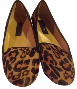 Nine West Animal print- black and caramel Flats