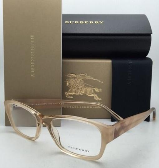 Burberry New BURBERRY Eyeglasses B 2127 3377 52-17 Brown Beige Frame w/Stripes