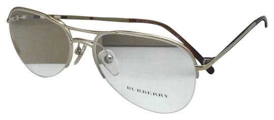 Preload https://item3.tradesy.com/images/burberry-b-1225-1145-53-16-135-gold-and-plaid-aviator-frame-wclear-new-eyeglasses-semi-rimless-wclea-12909307-0-1.jpg?width=440&height=440