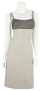 Narciso Rodriguez short dress Gray on Tradesy