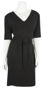 Agnona short dress Black on Tradesy
