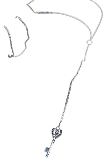 Preload https://item5.tradesy.com/images/daisy-del-sol-silver-chain-lariat-y-charm-necklace-12910084-0-2.jpg?width=440&height=440