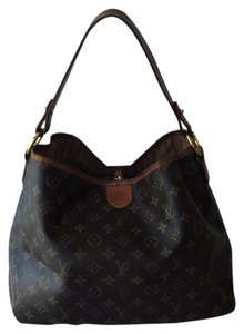 Louis Vuitton Delightful Pm Canvas Tote in Monogram