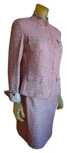 Elie Tahari Reversible Tweed Suit
