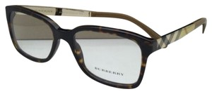 Burberry New BURBERRY Eyeglasses B 2143 3002 53-17 Tortoise-Gold-Toffee Frames w/Clear