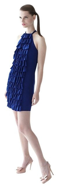 Preload https://item1.tradesy.com/images/anthropologie-blue-ruffled-racerback-mini-short-casual-dress-size-14-l-12910330-0-1.jpg?width=400&height=650
