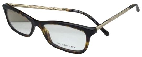 Preload https://item2.tradesy.com/images/burberry-b-2190-3002-54-15-tortoise-brown-and-gold-frames-w-clear-new-eyeglasses-w-12910396-0-1.jpg?width=440&height=440