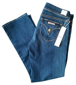 Hudson Jeans Crop Capri Boot Cut Jeans-Medium Wash