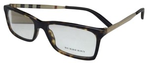Burberry New BURBERRY Eyeglasses B 2159-Q 3002 54-16 140 Tortoise Brown & Gold Frames