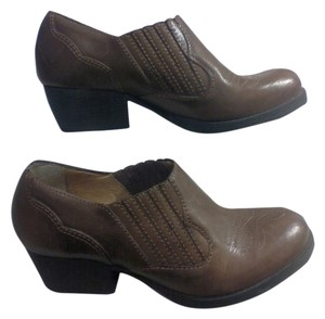 Leather Shoe Boot Brown Boots