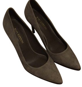 Enzo Angiolini Grey Pumps