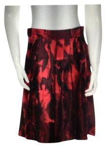 Piazza Sempione Skirt Red & burgandy