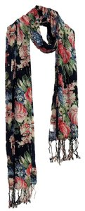 Other Printing Flowers Scarf C506017
