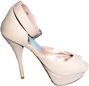 Bakers Platform Leather Classic Light Pink Platforms