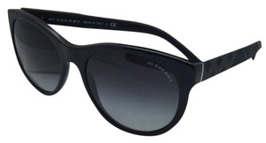 Burberry New BURBERRY Sunglasses B 4182 3001/8G 56-18 Black Frame w/ Grey Gradient Lenses