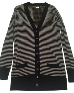 J.Crew Sweater 100% Merino Wool Striped Cardigan