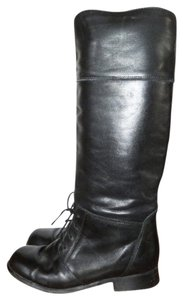 Blondo Equestrian Lace-up Black Boots