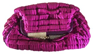 Fendi Cocktail Evening Rare Pink Clutch