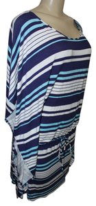 Kenneth Cole Reaction New With Tag Kenneth Cole Swimsuit Cover Up Dress, Sz L, Navy