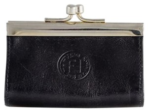 Fendi Coin Purse Vintage Rare Black Clutch