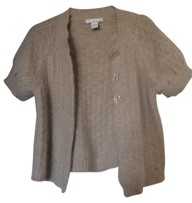 Preload https://img-static.tradesy.com/item/12911596/lucy-and-laurel-oatmeal-angora-fuzzy-cardigan-size-10-m-0-1-650-650.jpg