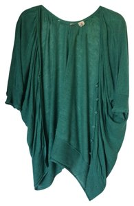 Anthropologie Draped Batwing Cardigan