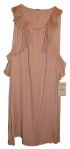 Free People short dress Pink Light Ruffle on Tradesy