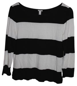 J.Crew Stripes Xs Crew Neck Sweater