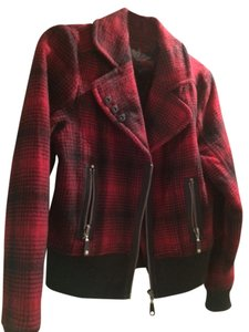 Buffalo David Bitton Wool Polyester Lining Like New red and black buffalo plaid Jacket