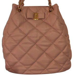 Salvatore Ferragamo Tote in Light Pink