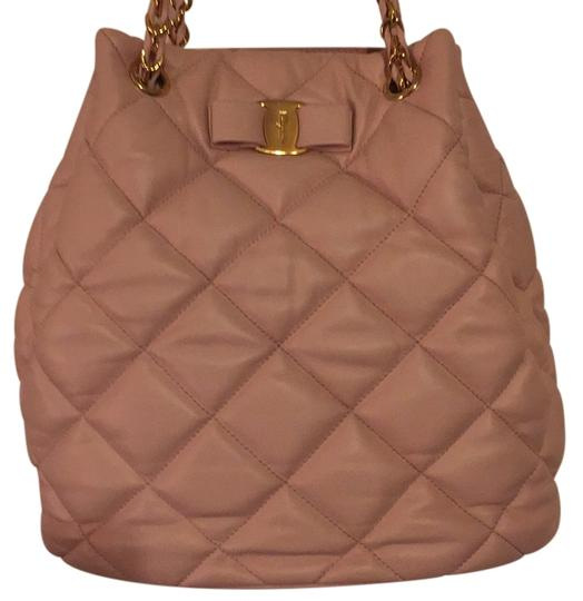 Preload https://item2.tradesy.com/images/salvatore-ferragamo-quilted-bucket-light-pink-leather-tote-12912241-0-1.jpg?width=440&height=440