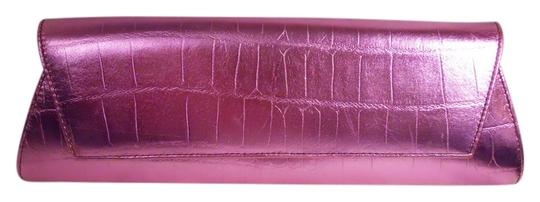 Preload https://item2.tradesy.com/images/kenneth-cole-croc-embossed-purple-leather-clutch-12912271-0-1.jpg?width=440&height=440