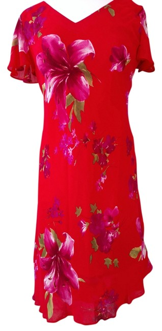 Preload https://item1.tradesy.com/images/donna-ricco-red-floral-high-low-hemline-high-low-night-out-dress-size-10-m-12912340-0-1.jpg?width=400&height=650