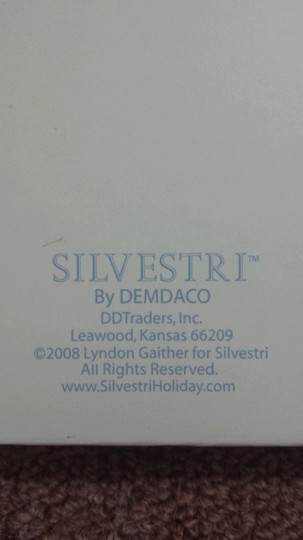 Lyndon Gaither For Silvestri Patee Cross In Beautiful Light Blue Box