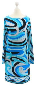 Michael Kors short dress Blue Geometric Summer on Tradesy