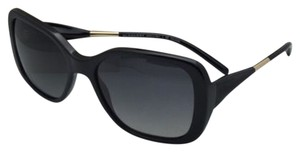 Burberry New Polarized BURBERRY Sunglasses B 4192 3001/T3 56-17 Black Frame w/ Grey gradient Lenses
