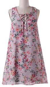 Final Touch short dress Floral on Tradesy