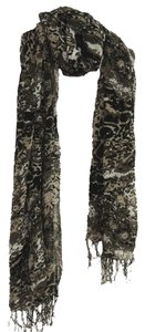 other Leopard print wrinkled crosspiece Scarf Item:A506132 Size:65280+82cm Materials:Acrylic Weight:0.20 Ib