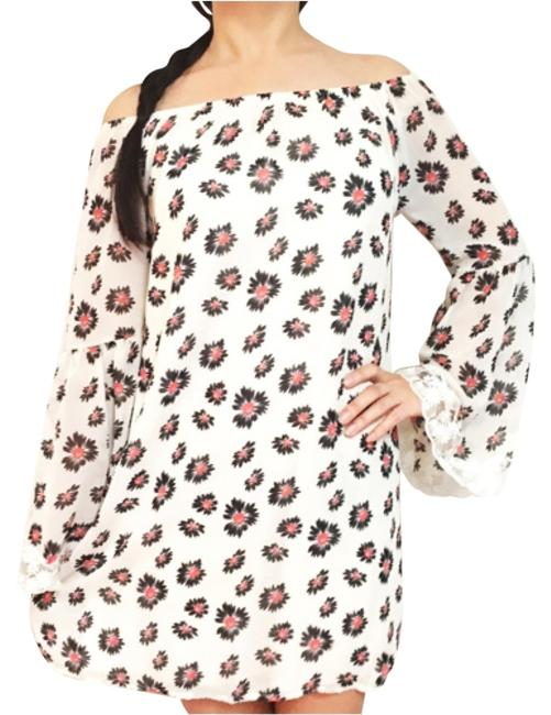 Preload https://item3.tradesy.com/images/2hearts-off-shoulder-bell-lace-sleeves-floral-shift-hippie-above-knee-short-casual-dress-size-4-s-12913042-0-1.jpg?width=400&height=650