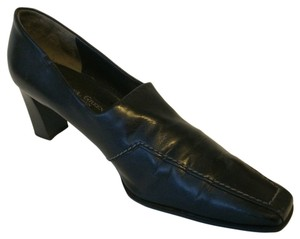 Paul Green Casual Comfortable Leather Black Formal