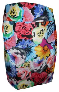 Grace Footwear Pencil Skirt Floral