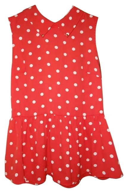 Preload https://item4.tradesy.com/images/forever-21-red-and-white-blouse-size-8-m-12913528-0-1.jpg?width=400&height=650