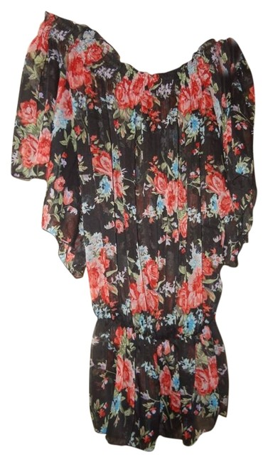Preload https://item4.tradesy.com/images/black-floral-blouse-size-8-m-12913573-0-1.jpg?width=400&height=650