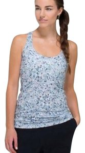 Lululemon lululemon cool racerback abstract gray floral print