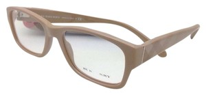 Burberry New BURBERRY Eyeglasses B 2127 3376 52-17 Beige Frame w/ Striped Beige Temples