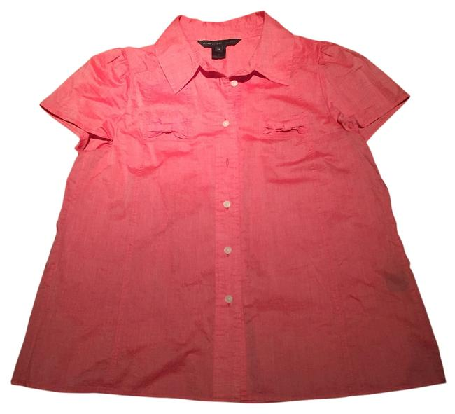 Preload https://item3.tradesy.com/images/marc-jacobs-coral-bows-bow-adorable-unique-button-down-top-size-10-m-12914617-0-1.jpg?width=400&height=650
